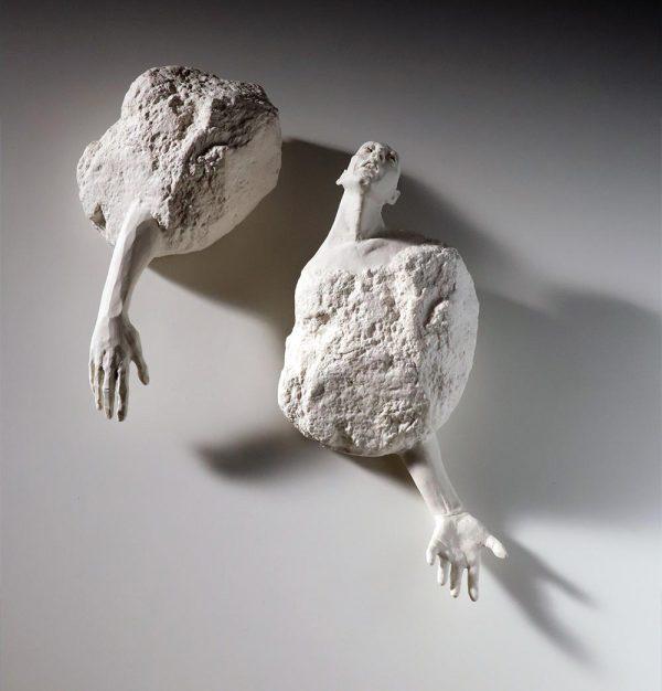 sin título, porcelana, 42 x 39 x 13 cm, 2017
