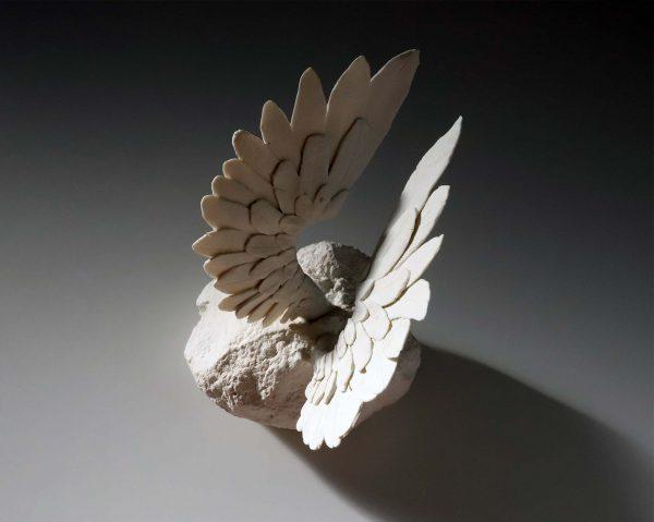 sin título, porcelana, 23 x 25 x 27cm, 2017