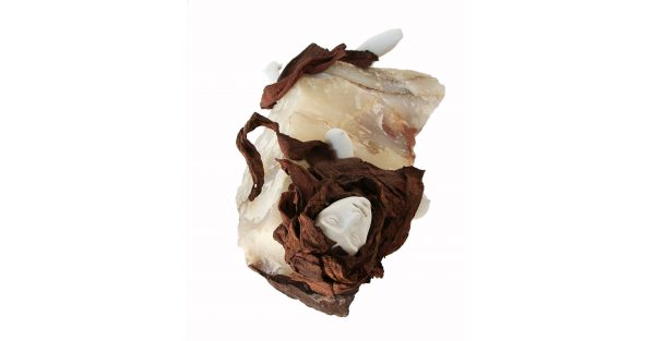 teresa extasiada, ¢nix, porcelana y gres, 31,5 x 72 x 41,5cm, 2016