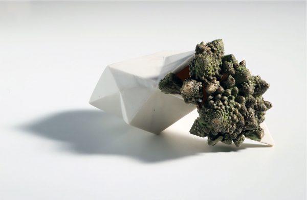 hábitat I, porcelian, 7 x 11 x 8,5cm, 2017