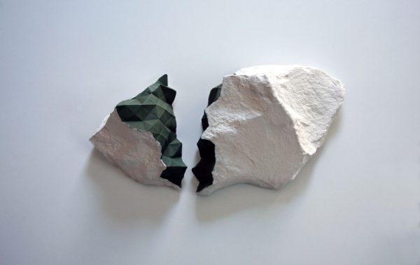hábitat IX, porcelain, 40 x 14 x 38 cm. 2018