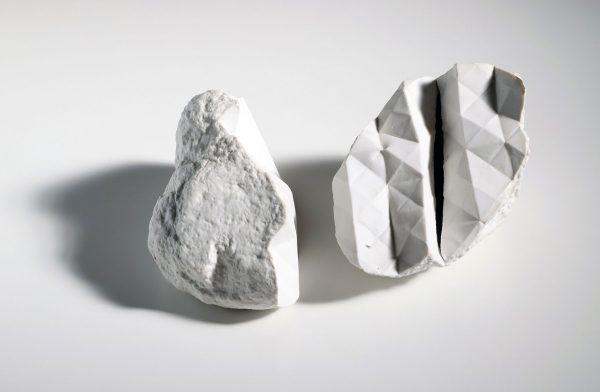 hábitat XV, porcelain, 10 x 58 x 50 cm, 2018